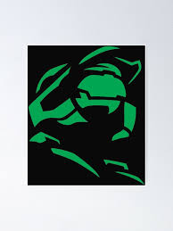 Halo Master Chief Xbox Poster By Grossberger Redbubble