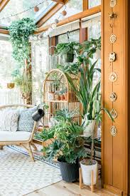 Plants Fill This Bright and Relaxing Boho Chic Home