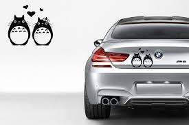 Totoro Love Vinyl Car Decal Custom Stickers Print Picture Etsy