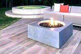 outdoor fire pit natural gas
