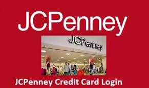 jcpenney credit card account login