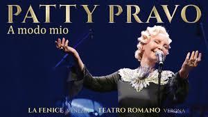 Patty Pravo - A Modo Mio - Live alla Fenice (Venezia) e Teatro ...