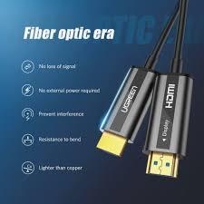 Cáp HDMI 2.0 Sợi Quang Dài 5M Hỗ Trợ 4K@60Hz HDR Cao Cấp Ugreen 50716
