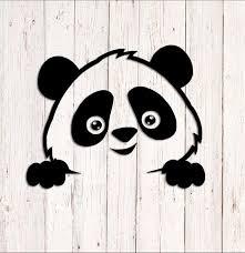 Panda Sticker Baby On Board Decal Panda Bear Decal Car Etsy In 2020 Bear Decal Panda Illustration Panda Bear