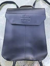 harley davidson leather backpack women