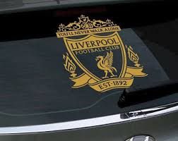 Liverpool Decal Etsy