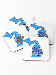 Gvsu Coasters Set Of 4 By Acakes15 Redbubble