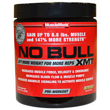musclemeds no bull xmt pre workout