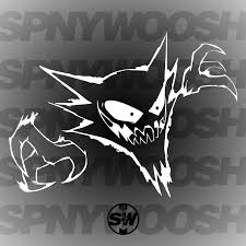 Crazy Haunter Decal Spinnywhoosh Graphics