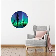 Amazon Com New 18 Northern Lights Wall Dot Wall Decal Sticker Vinyl Aurora Borealis Home Room Teen Bedroom Office Bedroom Art Decor Home Kitchen