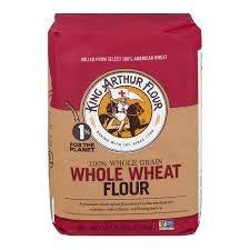 2 Pack) King Arthur Flour 100% Premium Whole Wheat Flour 5 lb. Bag -  Walmart.com - Walmart.com