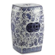 blue white chinoiserie fl vine