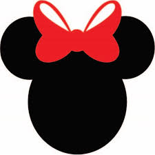 Design With Vinyl Minnie Mouse Simple Vinyl Wall Decal Wayfair