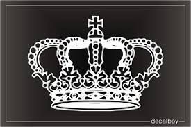 Imperial Crown Decal Vinyl Graphics Imperial Crown Personalized Decals