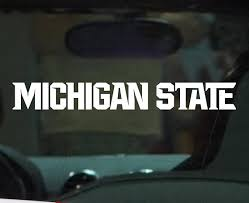 Its A Great Time To Be A Spartan This New Michigan State University Spartan Athletic Logo Vinyl Decal Sticker Is Ma Car Decals Vinyl Michigan State Car Decals