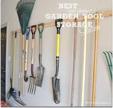 garden tool storage best and est