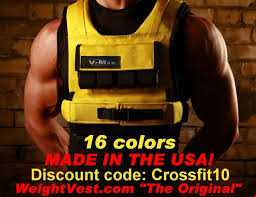 sponsor profile weight vest 2010