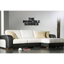 Shop Invincible Summer Quote Wall Art Sticker Decal Overstock 11526952
