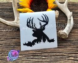 Deer Decal Buck Decal Sticker Cooler Decal Yeti Decal Etsy
