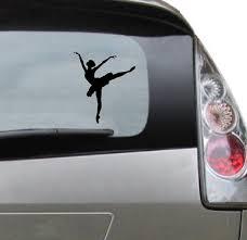 Popular Vinyl Car Decal Ballerina Ballet Decal For Tumbler Etsy