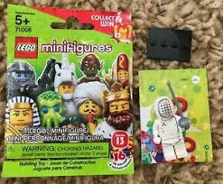 Lego Series 13 Fencer 71008 Minifigure Rapier Fencing Mask Collectible Cmf Ebay