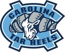 Unc North Carolina Tar Heels Emblem Vinyl Die Cut Decal St