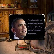 Barack Obama Quotes Metal Painting Poster Tin License Plate Wall Stickers Home Wall Decor Art Sign Wish