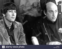 American director Richard Lester (r) and his actor John Lennon (l Stock  Photo - Alamy