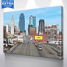 Kansas City Amazing Skyline Wall Art Zapwalls