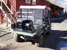 Hydraulic And Portable Fencing Rollers Manufactured By Frenchglen Blacksmiths
