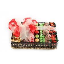 holiday wicker kosher chocolate and