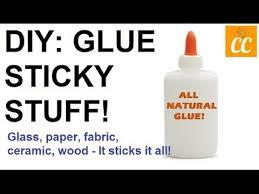 natural glue glass paper fabric