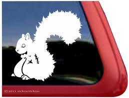 Squirrel Decals Stickers A Nickerstickers