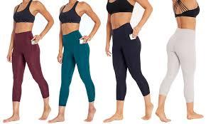 high waist capri leggings