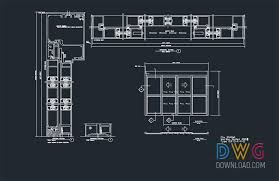 automatic sliding door dwg drawings