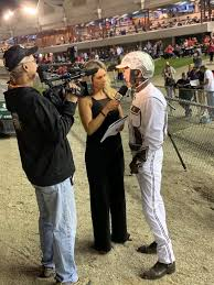 Wendy Ross: publicist, broadcaster, race analyst, outrider and owner -  Harness Racing Update