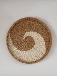 woven wall round baskets african basket