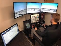 Elite PI-135 Professional Flight Simulator | Inflight Pilot Training