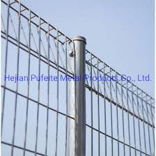 China Galvanized Security Welded Wire Mesh Roll Top Brc Fence Panel China Roll Top Fence Brc Fence