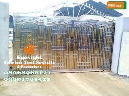 Stainless Steel Automatic Gate Swing Roll Slide Properties Nigeria