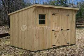 lean to garden shed plans