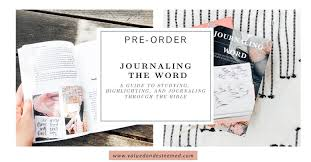 the best bible journaling highlighting study method
