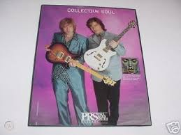 COLLECTIVE SOUL Ross Childress Ed Roland PRS Guitar Ad | #31737498
