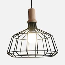 retro loft barn diamond pendant lamp