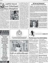 6 November 2009 Pagina 3 Euro Reserveren Maandag 9 November