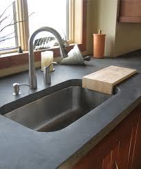 glamorous undermount sink in kitchen
