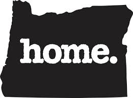 Home Oregon Black Vinyl Decal Matte Black Decor Decal Skin Sticker Car Truck Sticker John M Mchenryert