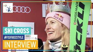"Fanny Smith | ""The race was very tough"" | Women's Ski Cross ..."