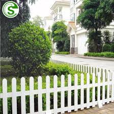 China Production Long Life Pvc Garden Fence White Plastic Fence China Pvc Fence Panels And White Vinyl Picket Fence Price