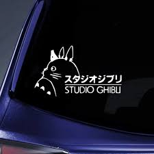 Vova Bargain Max Decals Totoro Ghibli Laputa Jdm Anime Sticker Decal Notebook Car Laptop 8 White